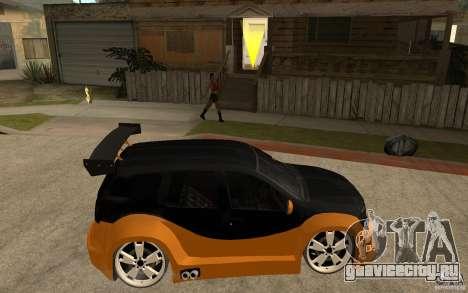 Dacia Duster Tuning v1 для GTA San Andreas