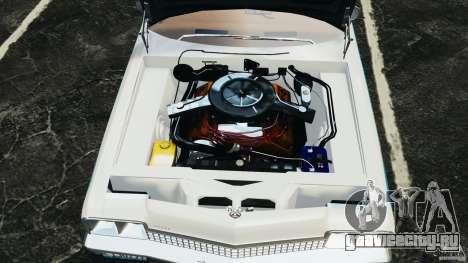 Dodge Monaco 1974 Police v1.0 [ELS] для GTA 4 вид сзади