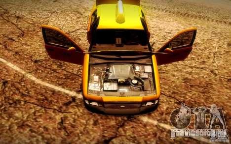 Ford Crown Victoria TAXI 2003 для GTA San Andreas вид сзади