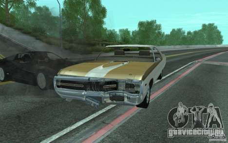 Chrysler 300 Hurst 1970 для GTA San Andreas вид сбоку