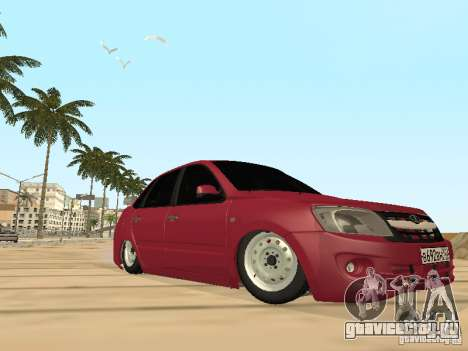 Lada Granta для GTA San Andreas вид сверху