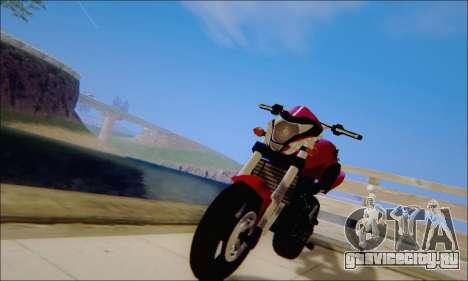 Honda CB600F Hornet 2012 для GTA San Andreas
