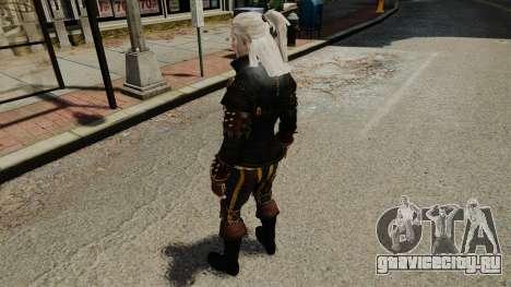 Геральт из Ривии v1 для GTA 4 пятый скриншот