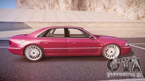 Audi A8 6.0 W12 Quattro (D2) 2002 для GTA 4 вид сбоку