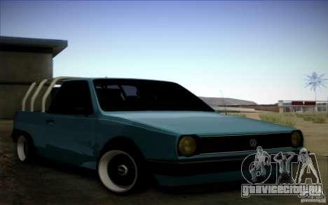 Volkswagen Polo Pickup для GTA San Andreas вид слева