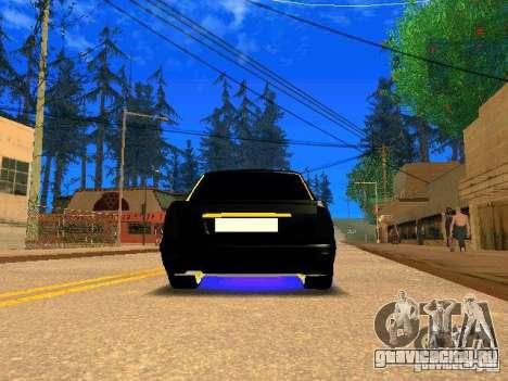 ВАЗ 2170 Приора Gold Edition для GTA San Andreas вид сзади