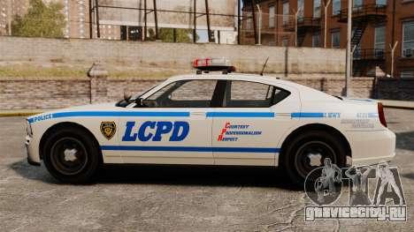 Полицейский Buffalo ELS для GTA 4 вид слева