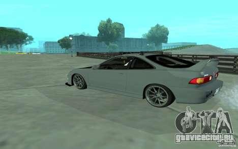 Acura Integra Type-R для GTA San Andreas вид сзади слева