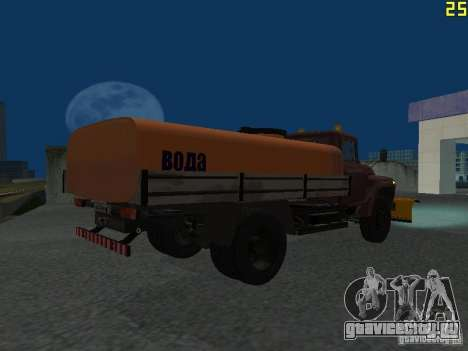 КО-829 на шасси ЗиЛ-130 beta для GTA San Andreas вид сзади