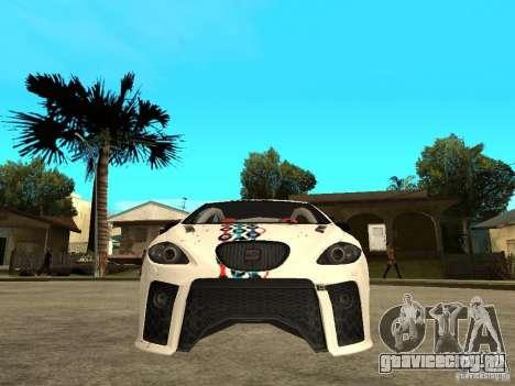 Seat Leon Cupra Bound Dynamic для GTA San Andreas вид справа