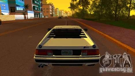 BMW M1 (E26) 1979 для GTA Vice City вид слева