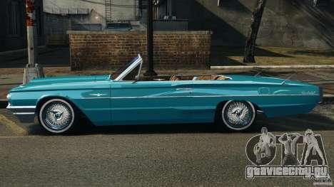Ford Thunderbird Light Custom 1964-1965 v1.0 для GTA 4 вид слева