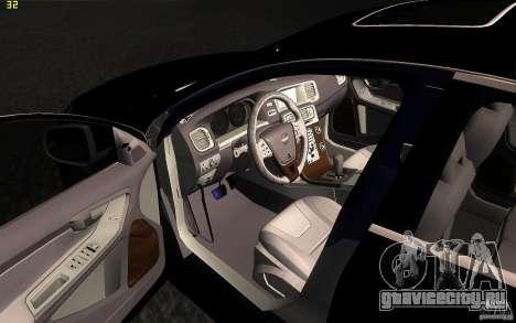 Volvo S60 2011 для GTA San Andreas вид сбоку