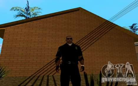 Новый дом Биг Смоука для GTA San Andreas седьмой скриншот