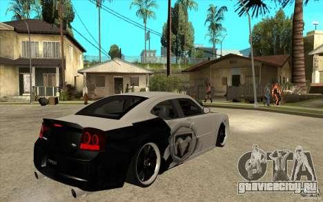 Dodge Charger SRT8 Tuning для GTA San Andreas вид справа