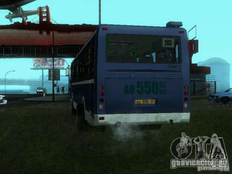 ЛиАЗ 5256-26 для GTA San Andreas вид слева