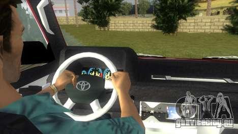 Toyota Town Ace-Tuning для GTA Vice City вид сзади слева