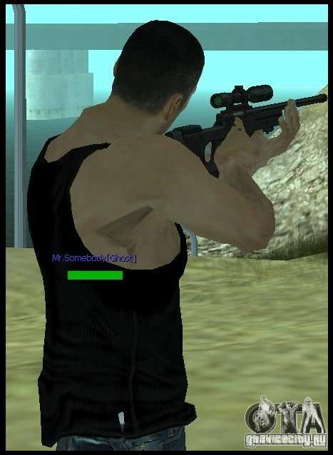 [Point Blank] L115A1 [Black] для GTA San Andreas третий скриншот
