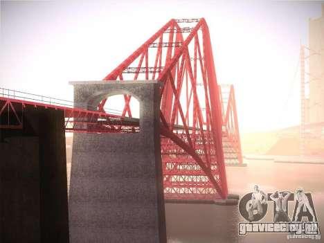 Orange ENB by NF v1 для GTA San Andreas десятый скриншот