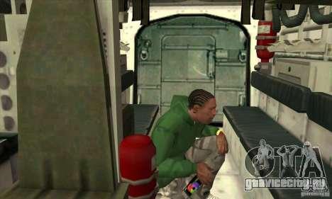 Stryker для GTA San Andreas вид сверху