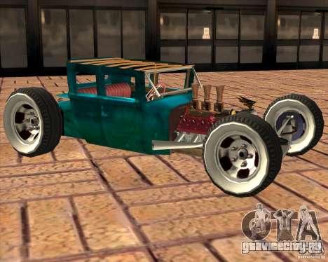 Ford model T 1925 ratrod для GTA San Andreas вид слева