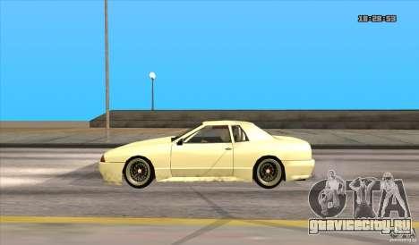Elegy Drift Style для GTA San Andreas вид сзади слева