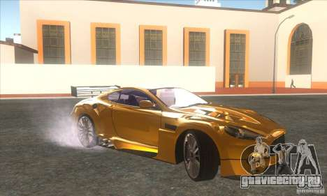 Aston Martin DB9 MW для GTA San Andreas вид слева