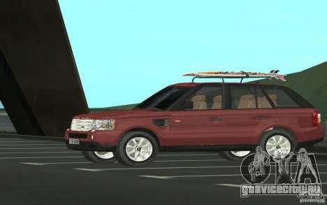 Land Rover Range Rover 2007 для GTA San Andreas