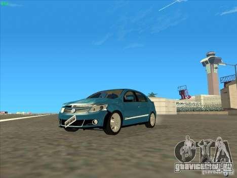 Volkswagen Voyage Comfortline 1.6 2009 для GTA San Andreas вид изнутри