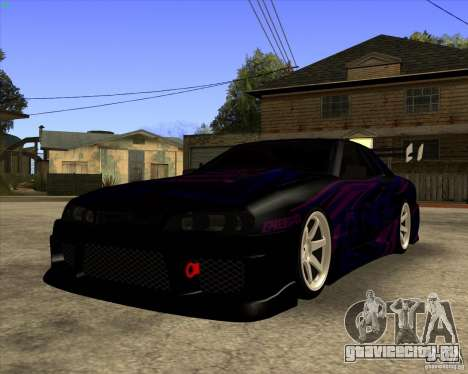 Elegy 0.2 для GTA San Andreas вид сзади слева
