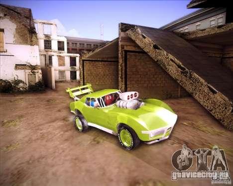 Chevrolet Corvette drag для GTA San Andreas