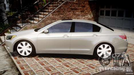Honda Accord 2009 для GTA 4 вид слева