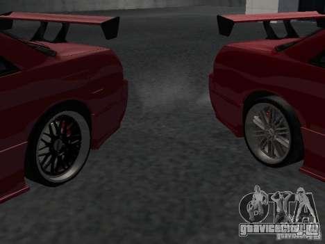 Nissan Skyline R32 Tuned для GTA San Andreas вид снизу