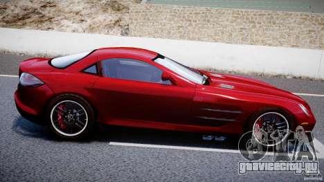 Mercedes-Benz McLaren SLR 722 v2.0 для GTA 4 вид сверху