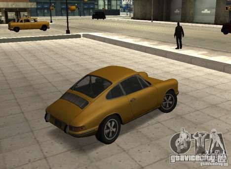 Porsche 911 S для GTA San Andreas вид слева