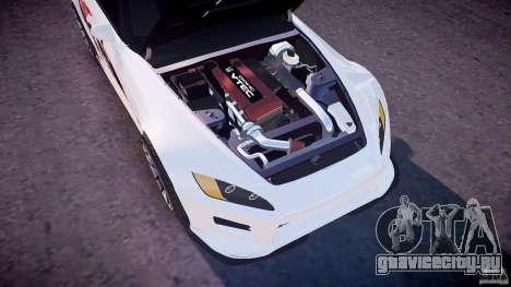 Honda S2000 Tuning 2002 Skin 3 для отжигов для GTA 4 вид снизу