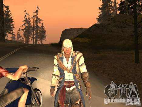 Connor From ACIII для GTA San Andreas