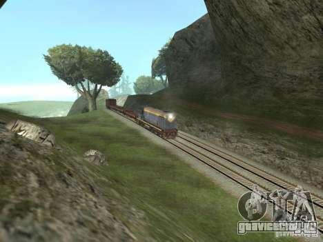 ТЭМ1М-1836 для GTA San Andreas вид сзади