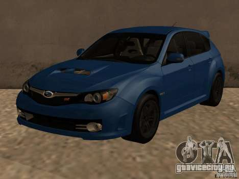 Subaru Imreza WRX для GTA San Andreas
