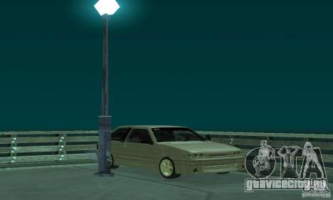 ВАЗ 2113 ADT Art Tuning для GTA San Andreas вид сзади