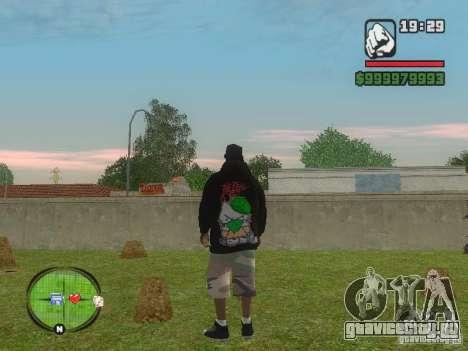 NEW Ryder для GTA San Andreas второй скриншот