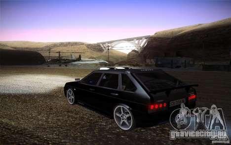 ВАЗ 2109 Карбон для GTA San Andreas вид слева