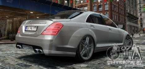 Mercedes Benz S63 Amg для GTA 4 вид слева
