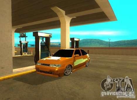 Ваз 2112 Tuning для GTA San Andreas вид сзади слева
