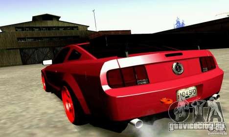 Shelby GT500 KR для GTA San Andreas вид слева