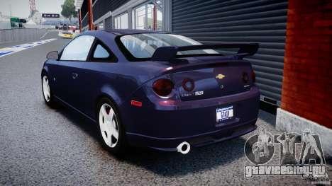 Chevrolet Cobalt SS для GTA 4 вид сзади слева