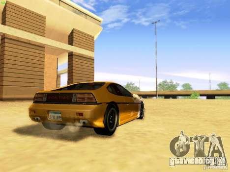 Pontiac Fiero V8 для GTA San Andreas вид слева