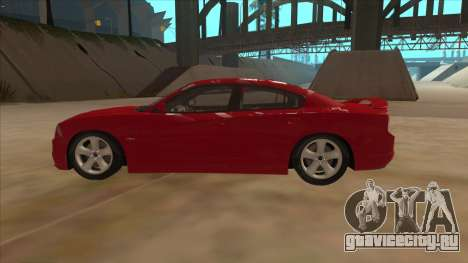 Dodge Charger RT 2011 V1.0 для GTA San Andreas вид слева