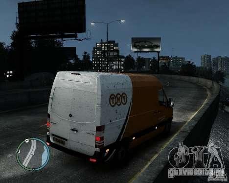 Mercedes-Benz Sprinter TNT для GTA 4 вид слева