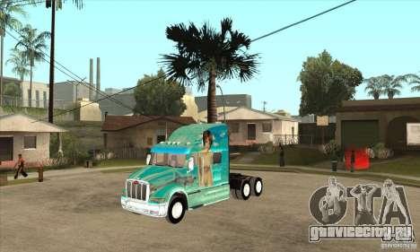 Peterbilt 387 скин 4 для GTA San Andreas